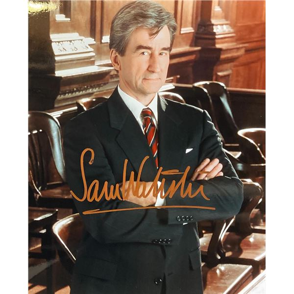 Law & Order Sam Waterston signed photo