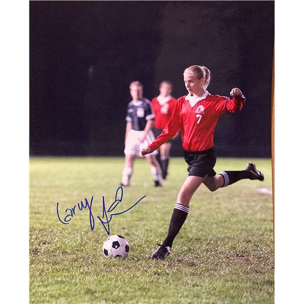 Gracie Carly Schroeder signed movie photo
