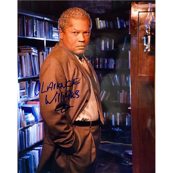 Clarence Williams III signed photo
