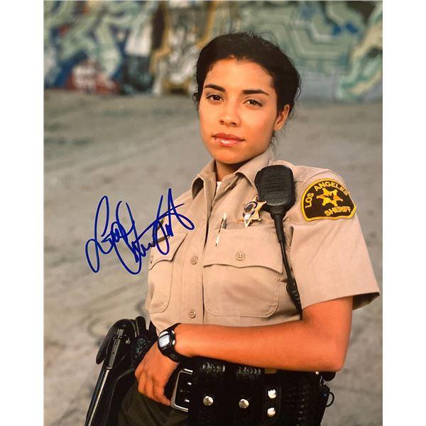 10-8: Officers on Duty Christina Vidal signed photo