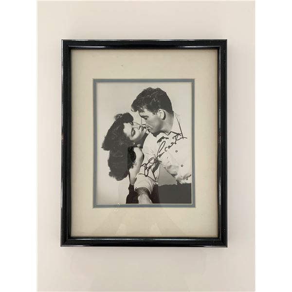 Burt Lancaster signed photo