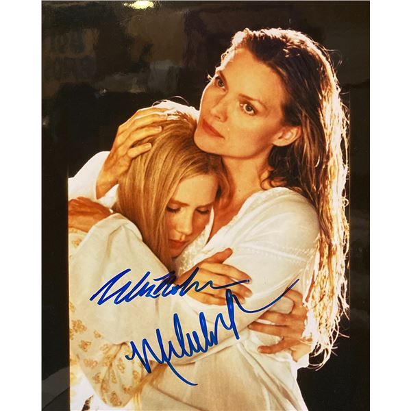 White Oleander Alison Lohman and Michelle Pfeiffer signed movie photo