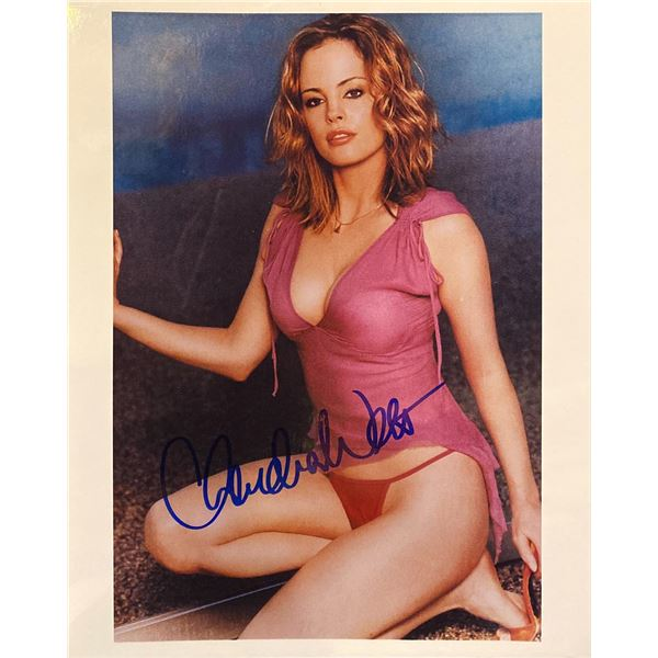 Chandra West signed photo