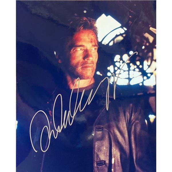 End of Days Arnold Schwarzenegger signed movie photo