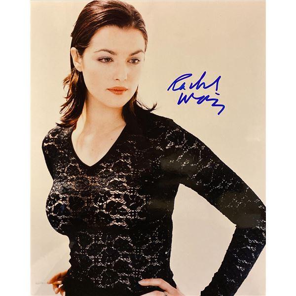Rachel Weisz signed photo