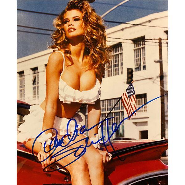 Claudia Schiffer signed photo