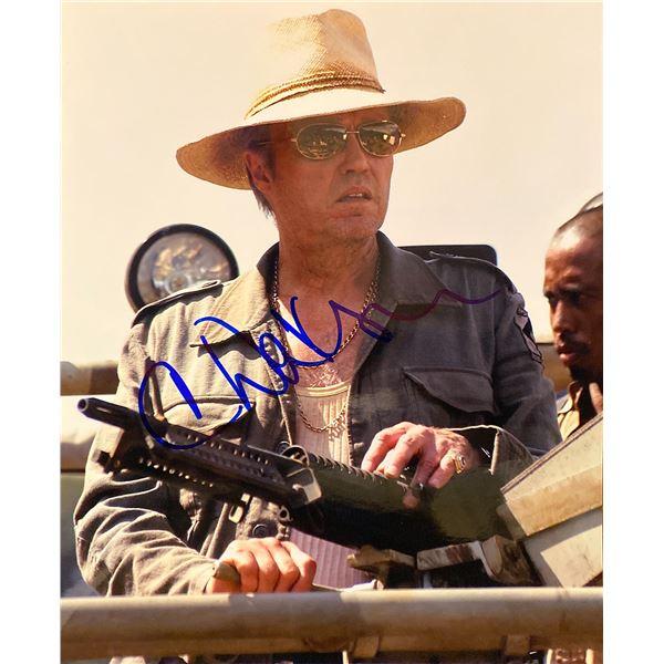 The Rundown Christopher Walken signed movie photo