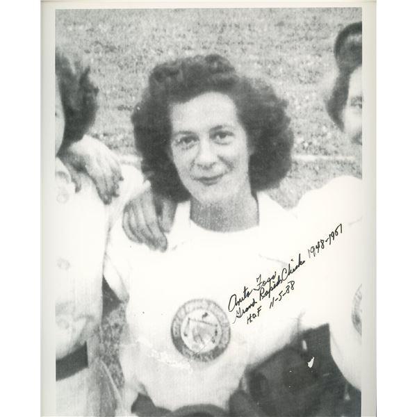 Anita Foss signed photo