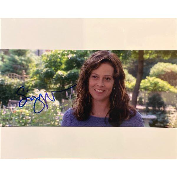 Sigourney Weaver signed photo