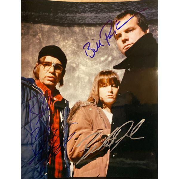 A Simple Plan Bill Paxton, Bridget Fonda, and Billy Bob Thornton signed movie photo