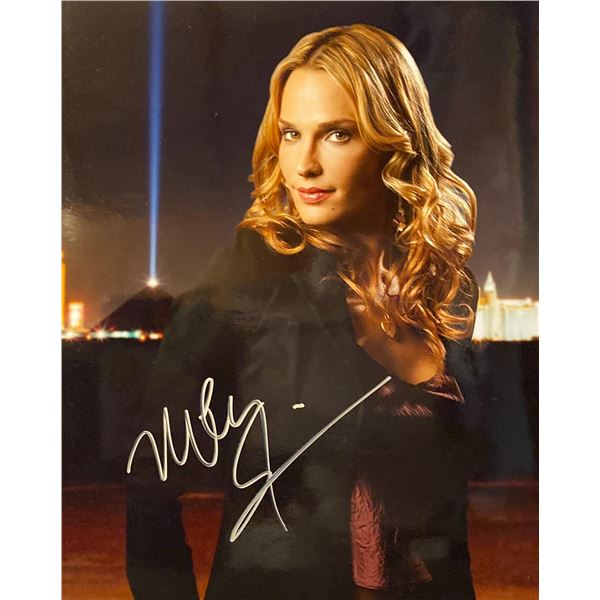 Molly Sims signed photo