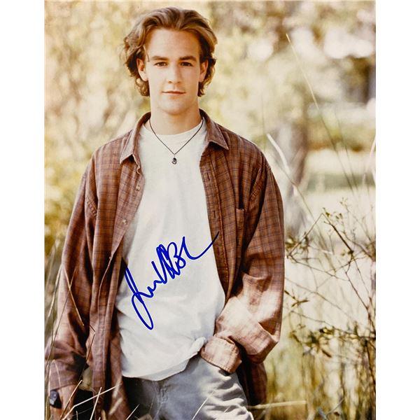 Dawson's Creek James Van Der Beek signed photo