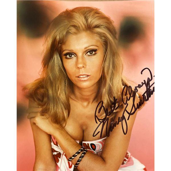 Nancy Sinatra signed photo