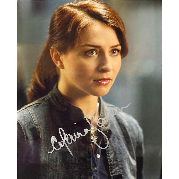 Caterina Scorsone signed photo