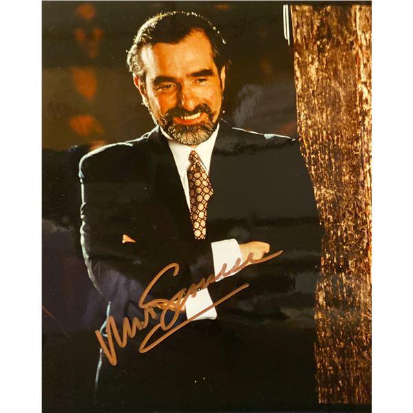 Martin Scorsese signed photo