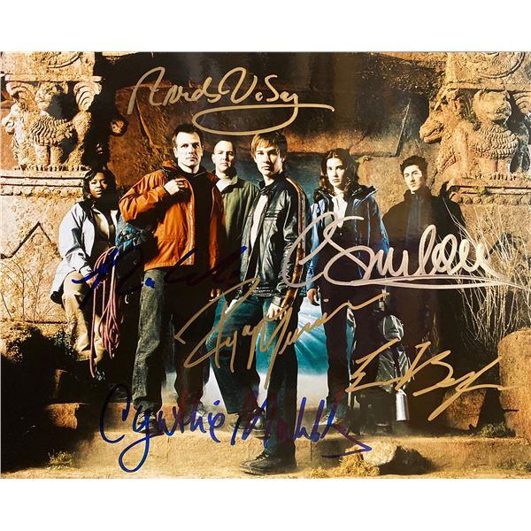 Veritas: The Quest cast signed photo