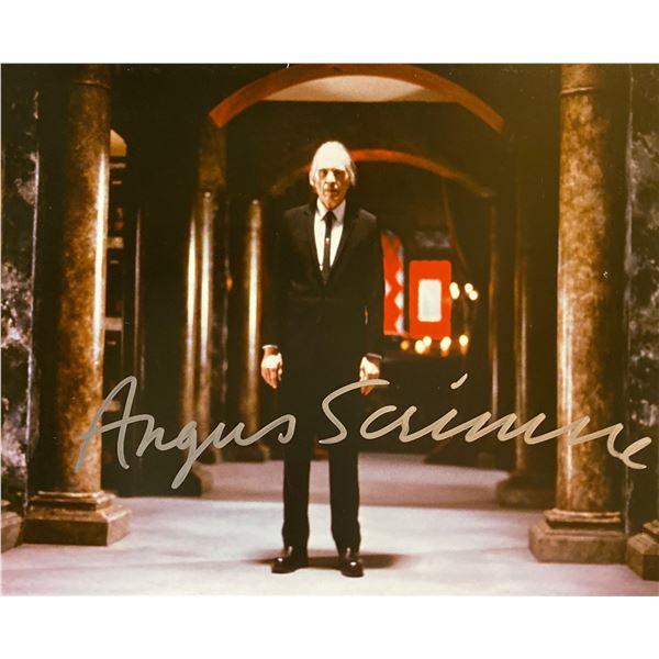 Phantasm Angus Scrimm signed movie photo