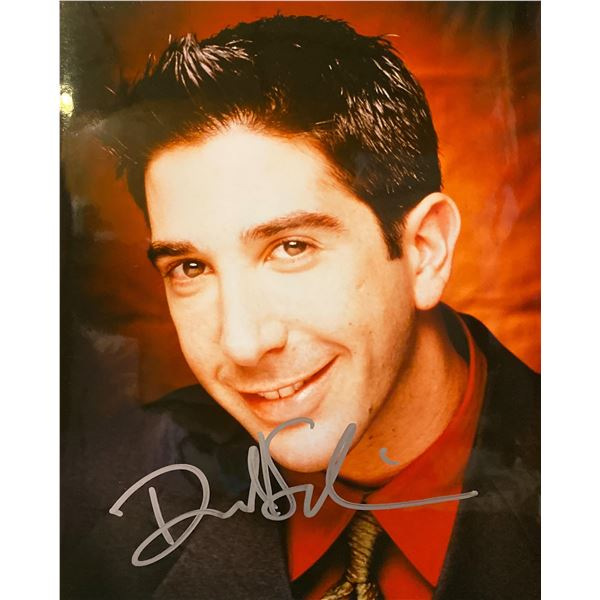 David Schwimmer signed photo