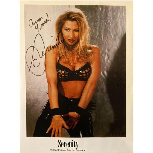 Serenity signed photo