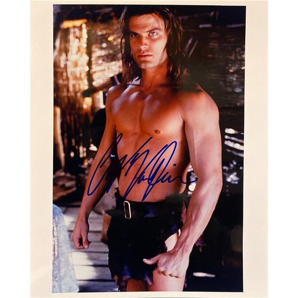 Tarzan and the Lost City Casper Van Dien signed movie photo