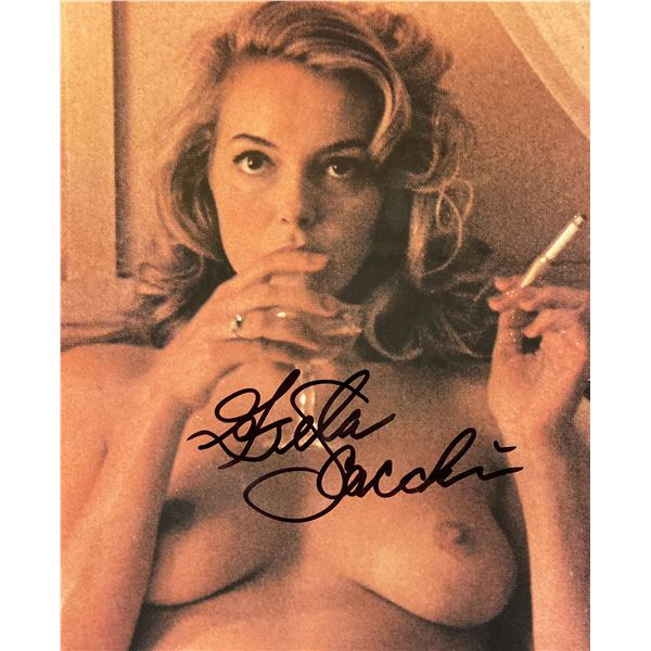 Greta Scacchi signed photo