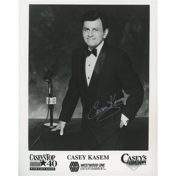 Casey Kasem signed photo