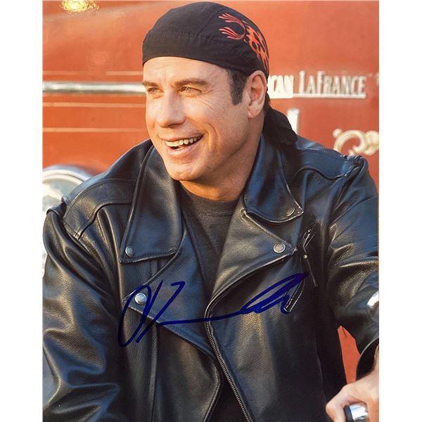 Wild Hogs John Travolta signed movie photo