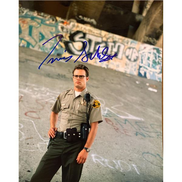 10-8: Officers on Duty Travis Schuldt signed photo