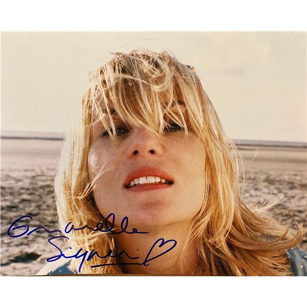 Emmanuelle Seigner signed photo