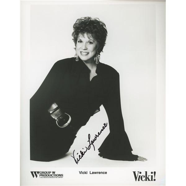 Vicki Lawrence signed photo