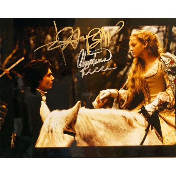 Sleepy Hollow Johnny Depp and Christina Ricci signed movie photo