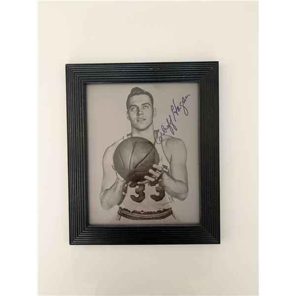 St. Louis Hawks Cliff Hagan signed photo