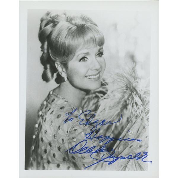 Debbie Reynolds signed photo.