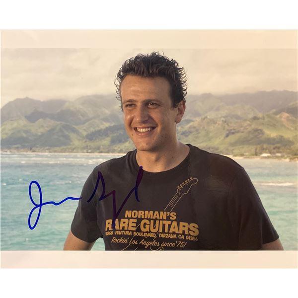 Jason Segel signed photo