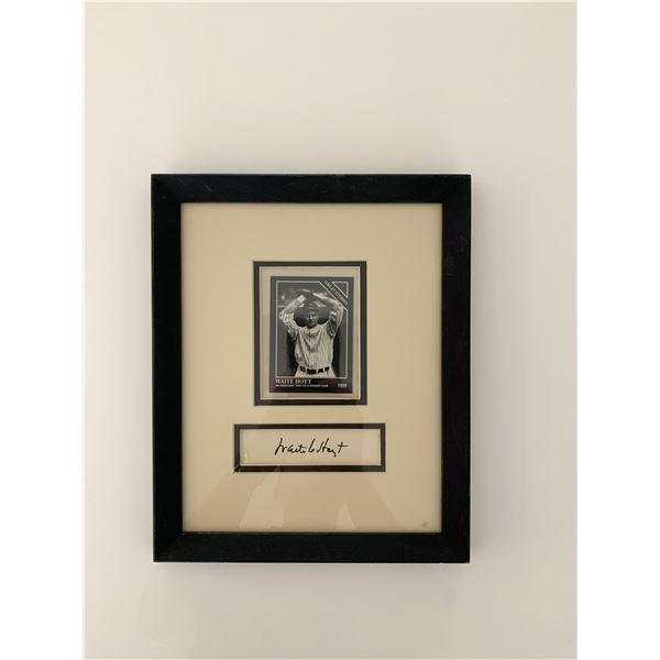 Waite Hoyt original signature collage