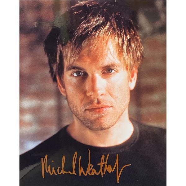Michael Weatherly signed photo