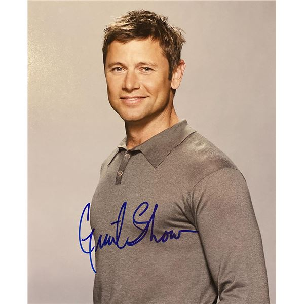 Grant Show signed photo