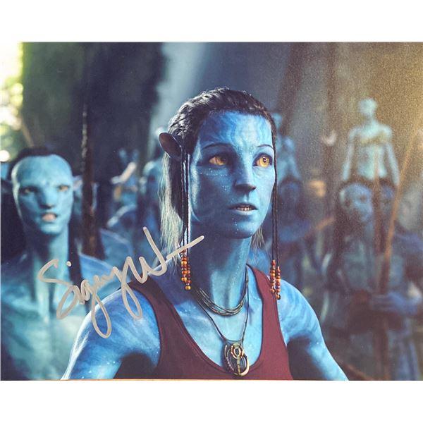 Avatar Sigourney Weaver signed movie photo