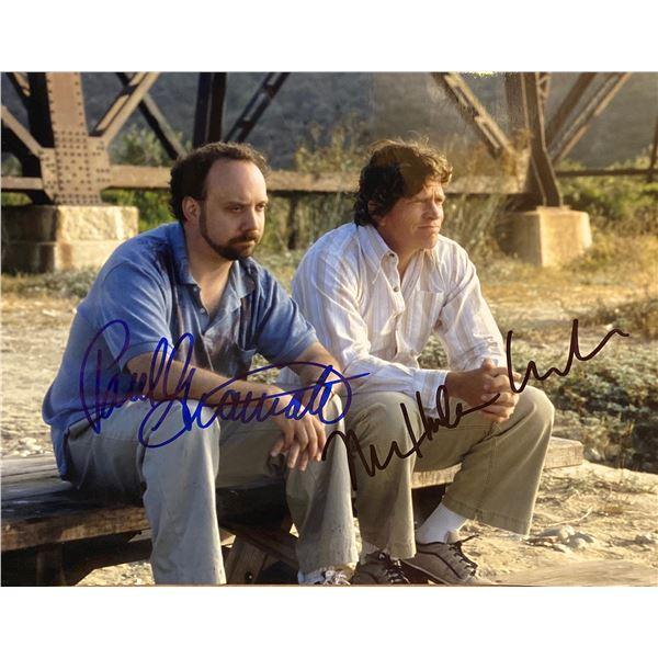 Sideways Thomas Church and Paul Giamatti signed movie photo