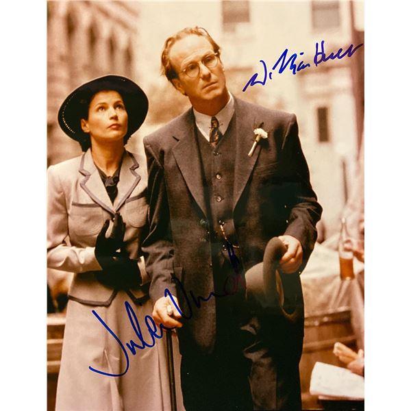 Varian's War Julia Ormond and William Hurt signed movie photo