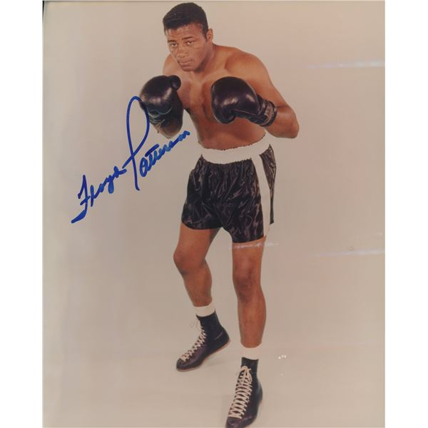 Floyd Patterson signed photo