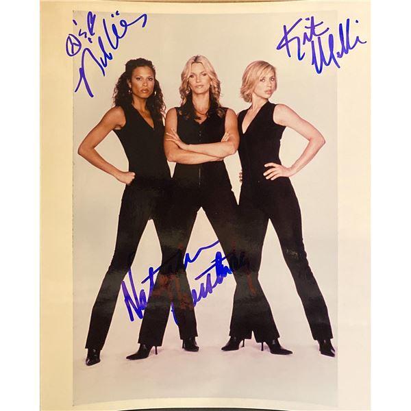 She Spies Natasha Henstridge, Natashia Williams, and Kristen Miller signed photo