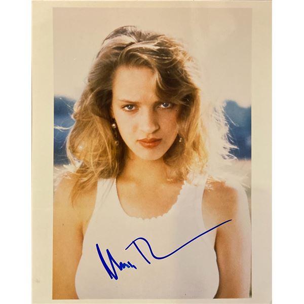 Uma Thurman signed photo