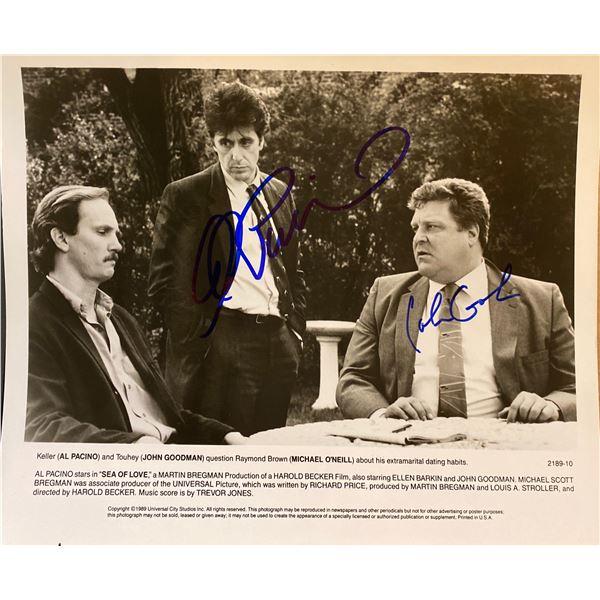 Sea of Love Al Pacino and John Goodman signed movie photo