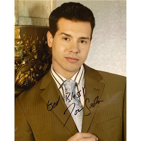 Jon Seda signed photo
