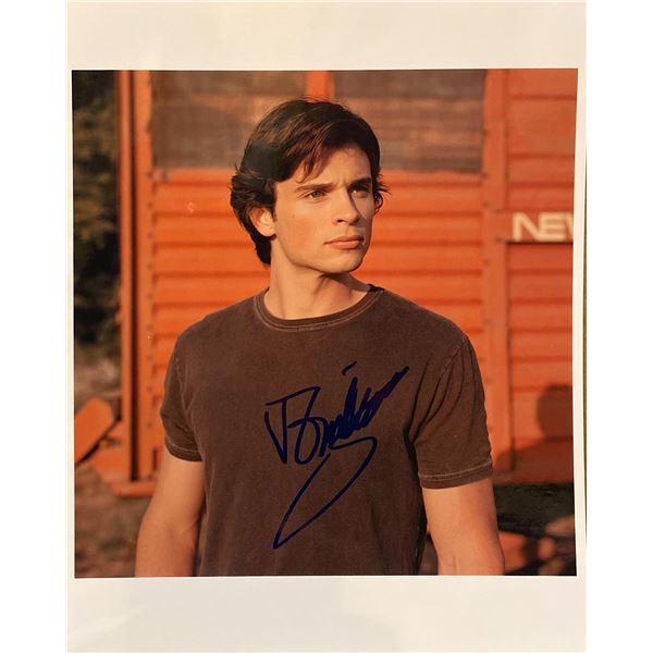 Tom Welling signed photo