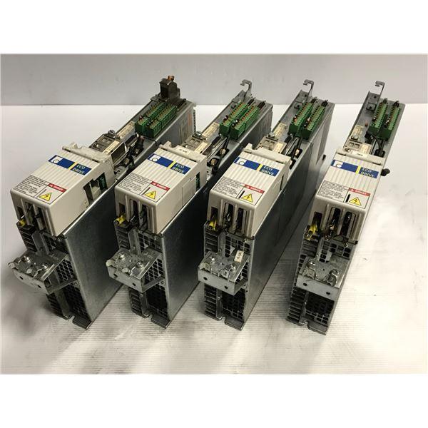 (4) Rexroth DKC02.3-040-7-FW Servo Drives