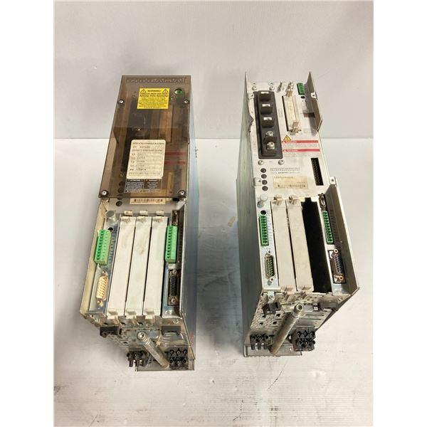 (2) Indramat Digital A.C. Servo Controllers, M/N: DDS02.1-A100-D