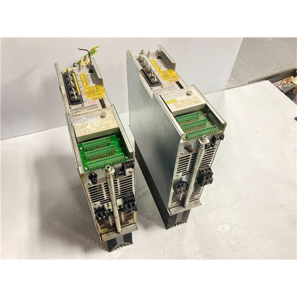 (2) Indramat A.C. Servo Controllers, M/N: KDS 1.1-050-300-W1-115