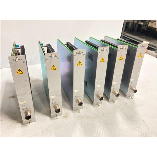 (6) Rexroth Servo Amplifier Modules, Type: 0 608 750 085